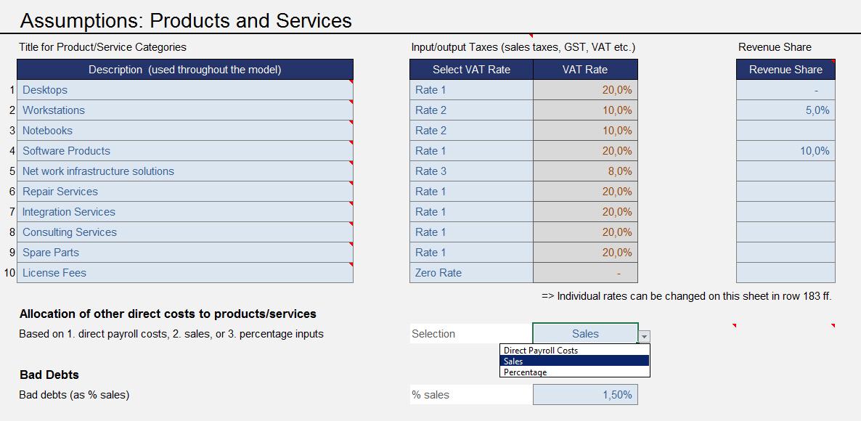 excel financial model ce screenshots efm